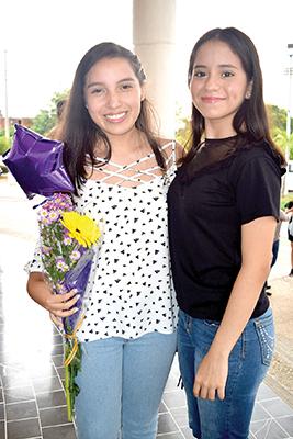 Andrea Cisneros, Valeria Rodríguez.