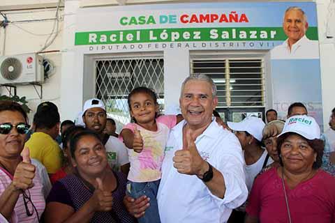 Gran Cierre de Campaña de Raciel López en la Costa