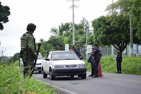 Refuerzan Seguridad en Cacahoatán