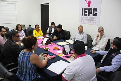 Estrechan Coordinación IEPC e INE al Revisar Avances Rumbo al 1 de Julio