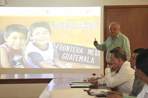 Respalda OPS/OMS Agenda Binacional Chiapas-Guatemala en la Frontera Sur