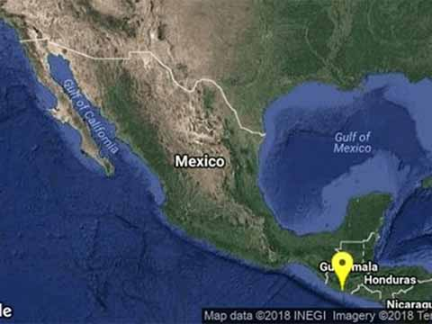 Intenso Sismo de 5.8 Grados Richter Sacude Municipios del Soconusco