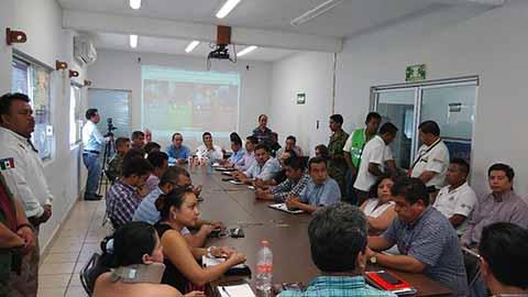 Sesiona Consejo Regional de Protección Civil por la Contingencia en Guatemala