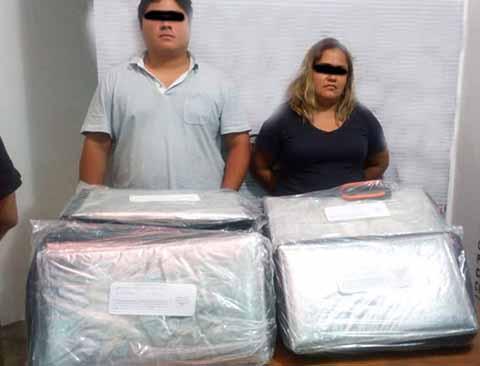 Transportaban 6 Kilos de Heroína en Autobús de Tapachula a Tuxtla