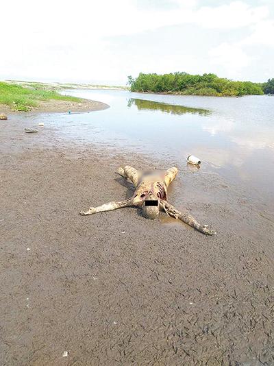 Localizan Cuerpo Putrefacto a Orilla del río