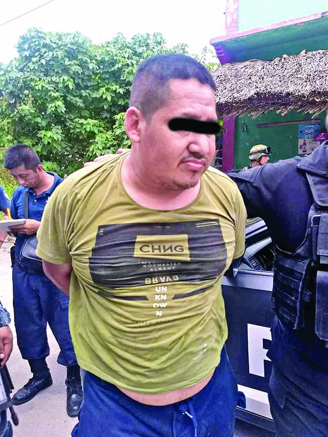 Detenido en Mazatán por Llevar un Arma de Fuego
