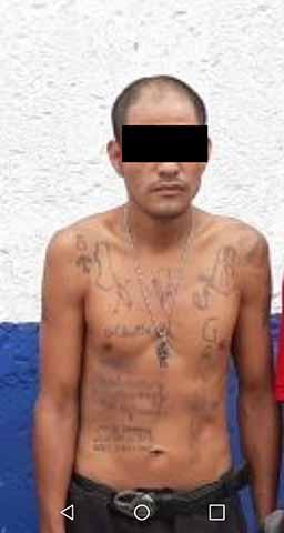 En Barrido Antipandillas Detienen Otros Cinco Barrio 18 en Tapachula