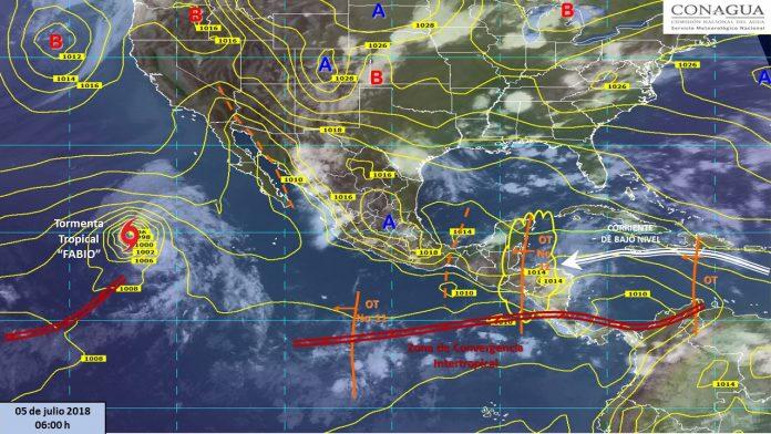 Onda Tropical 11 y 12 Afectan el Sureste