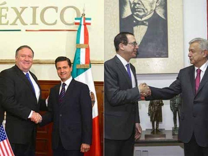 Acuerdan Peña, AMLO y Embajadores de EU Hacer Frente Común por Relación Bilateral