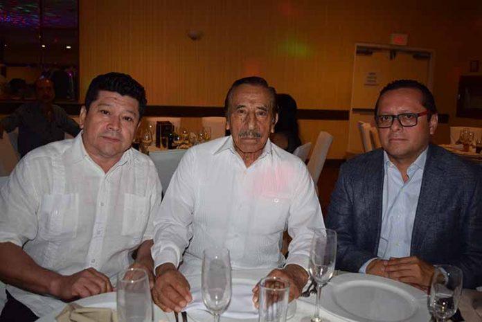 Saúl López, Jorge Gutiérrez, Ignacio Romero.