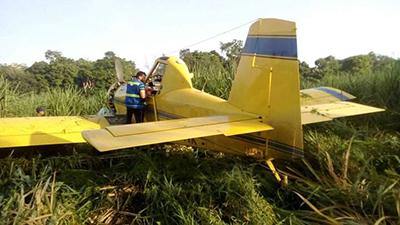 Se Desploma Avioneta Fumigadora