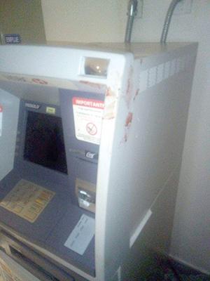 Intentan Robar Cajero Automático en Ciudad Salud