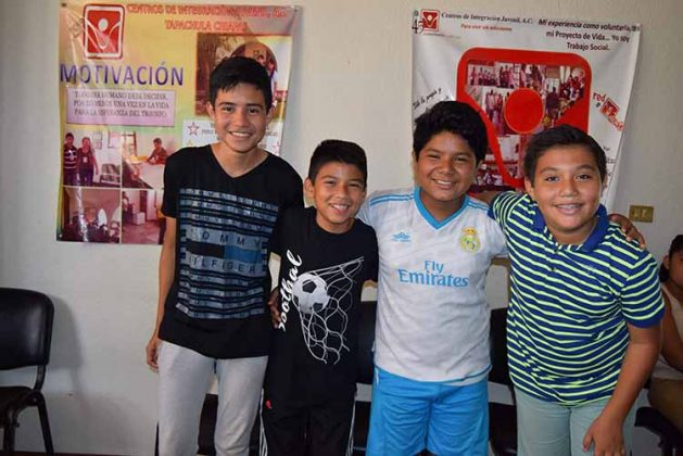 Luis Rodríguez, Héctor Rodríguez, Carlo Vázquez, Francisco Piña.