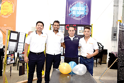 Emmanuel Gómez, Roberto Victorio, Alexander Rojas, José Gálvez.