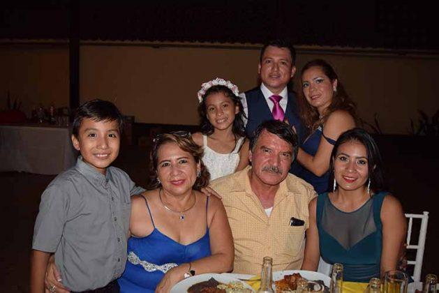 Familia Recinos Maldonado.