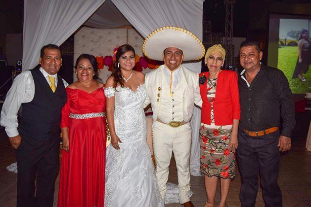 Francisco Muñoz, Susana Pérez, Rubiselda Quintana, Albino de León.