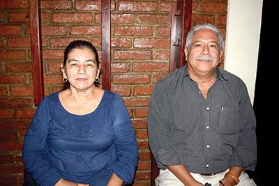 Amanda Robles, Manuel González.