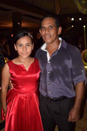 Kimberly Michelle, Everardo González.
