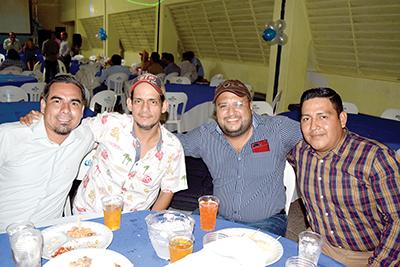 José Rivero, Armando Prado, Gerardo Sánchez, Herlindo Muñoz.