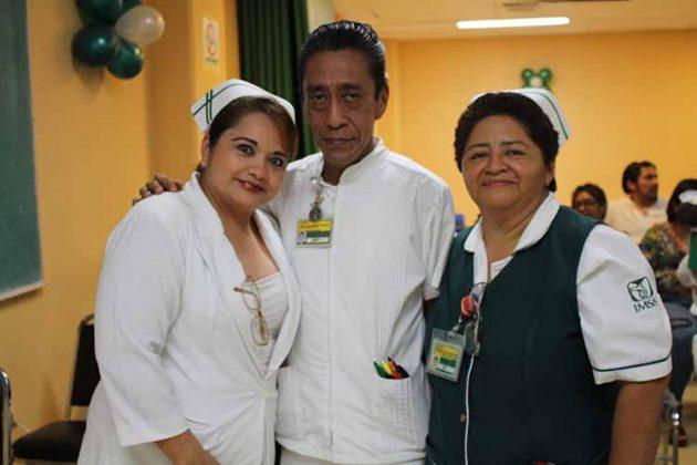 Inés Sánchez, Gerardo Solís, Norma Zepeda.