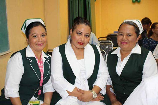 Ludivina Ortiz, Miriam Rivas, Maricela Simón.
