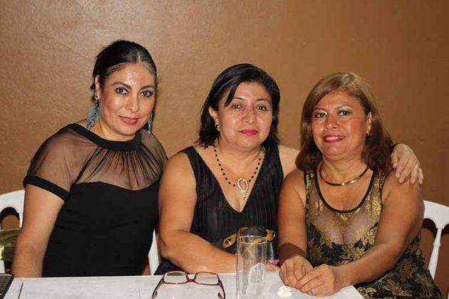 Georgina Vilchis, Aracely López, Isabel Jovel.