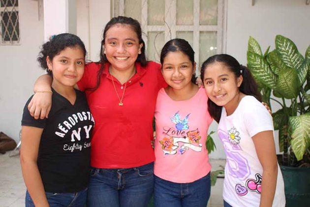 Fabiola Girón, Lisette Cueto, Citlali De los Santos, Fernanda Ruiz.