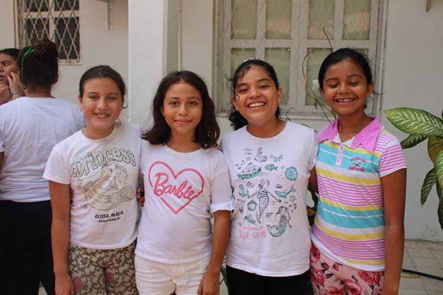 Ximena López, Sofía Ríos, Arianna Ángel, Nathalia Ordóñez.