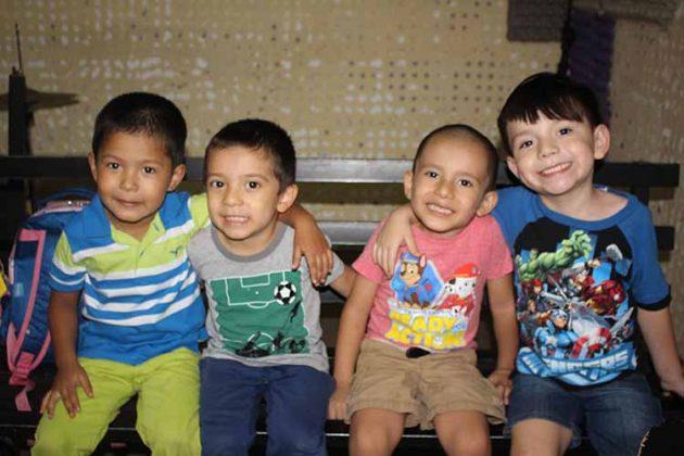Santiago Ortiz, Ignacio Arroyo, Héctor Esquinca, Axel Castillo.