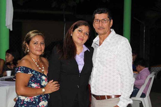 Olga Méndez, Concepción, David Palomeque.