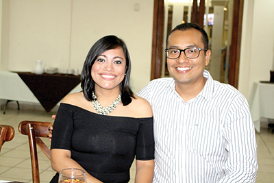 Patty Vilches, Arturo Hernández.