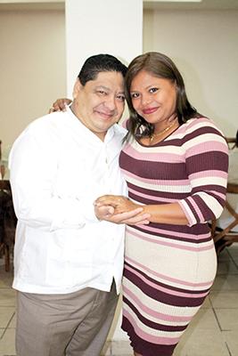 Alberto Cundapí, Teresita Martínez.