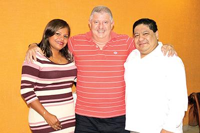 Alberto Cundapí, Alejandro Padilla, Teresita Martínez.