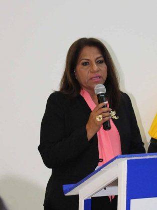Martha de la Cruz, presidenta de AMEXME Capítulo Tapachula 2018-2021.