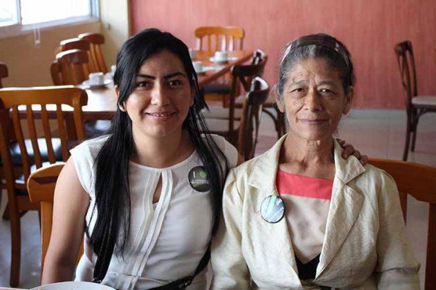 Viridiana Pérez, Rebeca Roblero.