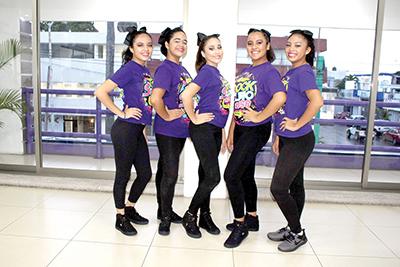 Gretta Arianna, Majo Morales, Abril Zamora, Sarah de la Rosa, Andrea Ovalle.
