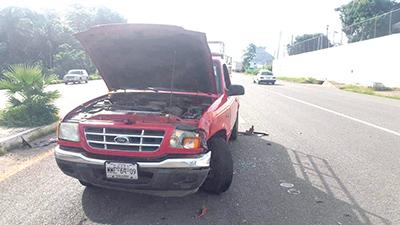 Provocó Accidente en la Carretera