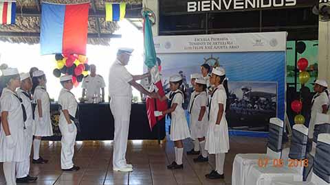 Clausura de Cursos del Jardín de Niños y Escuela Primaria de 14ª Zona Naval