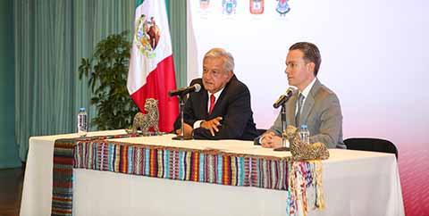 Coordinación de Esfuerzos Para Estructurar Plan de Seguridad: Velasco y AMLO