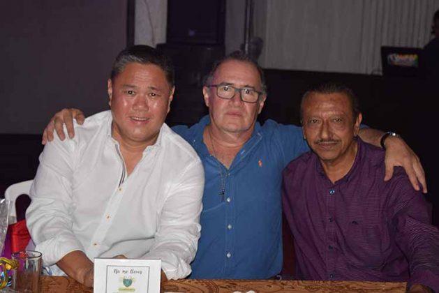David Sing, Juan Medina, Alfonso Escobar.