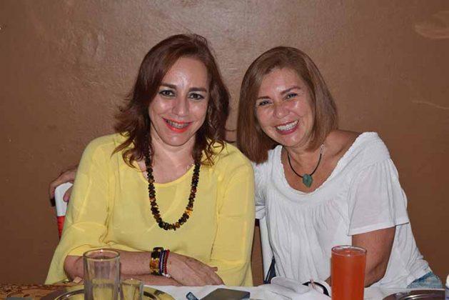 Roxana Ocampo, Maggy Espino.