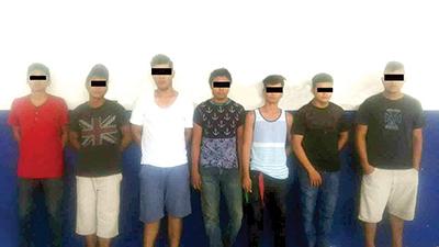 Varios Detenidos en Operativo