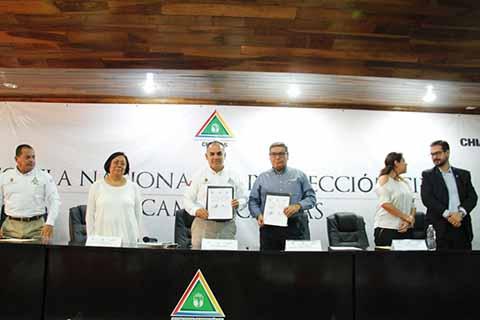 PC y Coparmex Signan Convenio Para el Fomento de la Prevención en Chiapas
