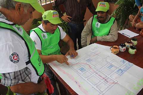 Con los Comités de Prevención y Participación Ciudadana se Reducen Riesgos de Desastres