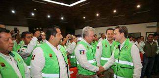 El gobernador destacó la participación de la población ante los fenómenos meteorológicos, lo que ha significado una labor ejemplar por las acciones o medidas de autoprotección para las comunidades de Chiapas.