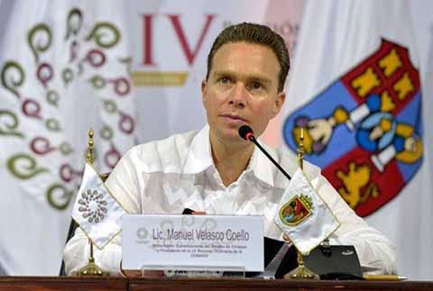 El presidente de la Conferencia Nacional de Gobernadores (Conago), Manuel Velasco Coello, acompañó al presidente de la República, Enrique Peña Nieto, en el inicio de las actividades de la XIII Cumbre de la Alianza del Pacífico, que reúne a presidentes y gobernadores de México, Chile, Colombia y Perú.