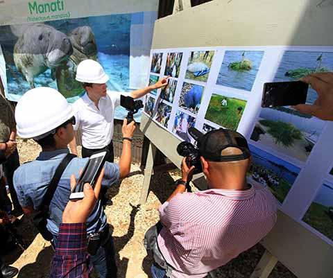 Gobierno de Velasco Contribuye en la Protección del Manatí