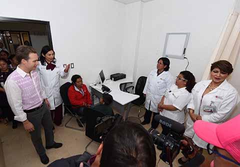 Refuerza Gobierno de Velasco Atención Integral Para Mujeres Indígenas