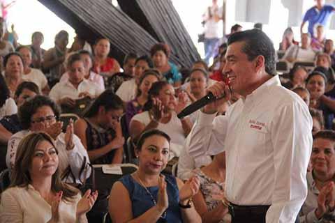 Rutilio Escandón Priorizará la Educación en Chiapas