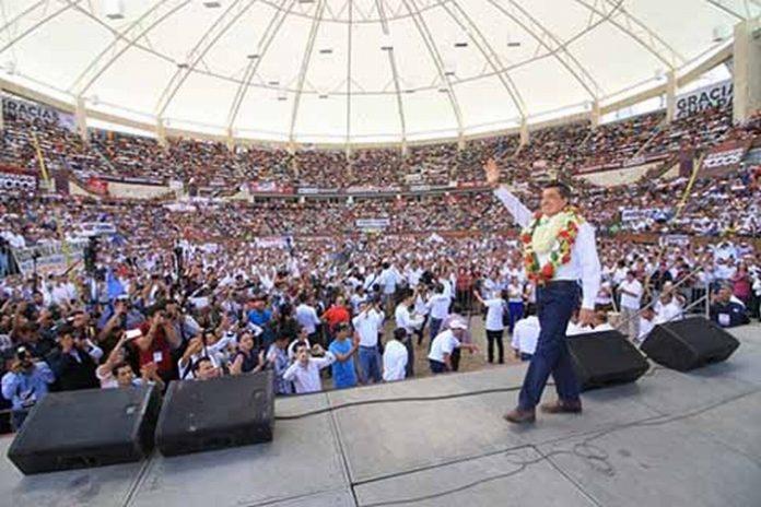 Rutilio Escandón Recibe Constancia de Mayoría Afirma ir de la Mano del Presidente López Obrador